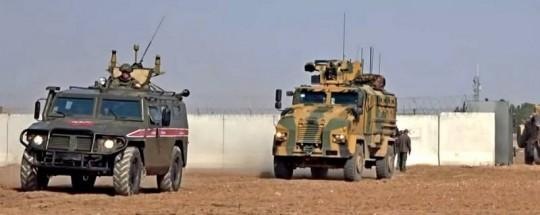 Россия и Турция проконтролировали отвод войск от трассы М-4 в Сирии