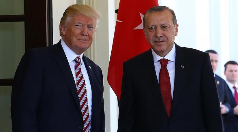 Эрдоган и Трамп обсудили дело Джемаля Кашикчы