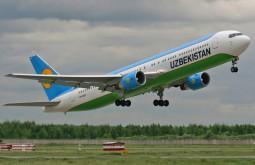 «Узбекистон хаво йуллари» дала старт рейсу Самарканд-Стамбул