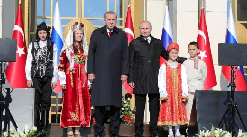 Путин и Эрдоган дали старт началу строительства АЭС «Аккую» в Турции