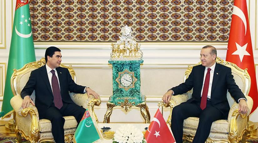 Главы Туркменистана и Турции обсудили ситуацию в регионе