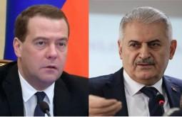 Медведев увидел потенциал для наращивания торговых связей России и Турции