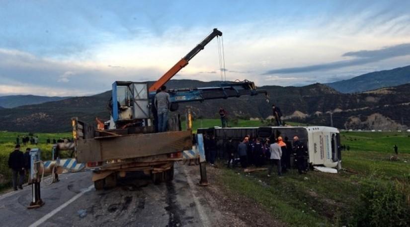 11 погибли, 86 пострадали в результате нескольких аварий в Турции