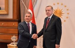 Рустам Минниханов в Анкаре встретился с Реджепом Тайипом Эрдоганом
