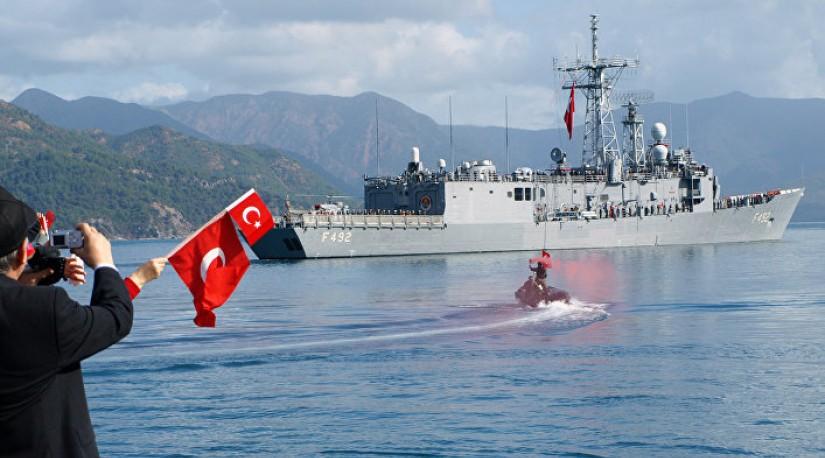 Yeni Şafak (Турция): И буровые, и военные корабли