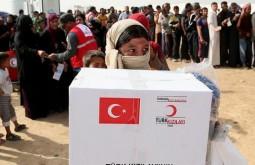 Турция оказывает гуманитарную помощь жителям Африна и его окрестностей