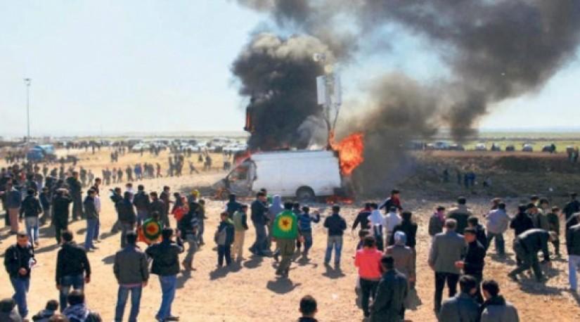 Турция вновь бомбит сирийских курдов