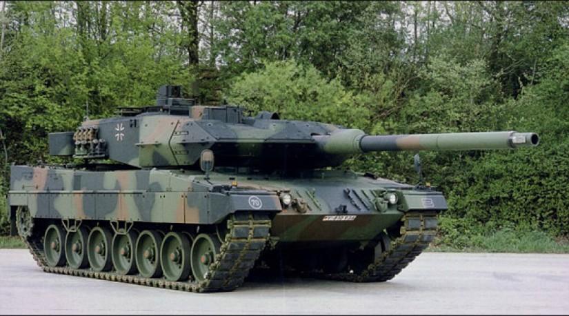 Турция использует против курдов немецкие танки Leopard