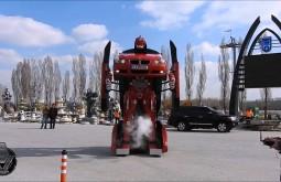 Огромный турецкий трансформер на базе BMW попал на видео