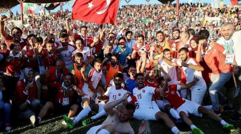 Сборная Турции по футболу заняла первое место на XXIII Сурдлимпийских играх