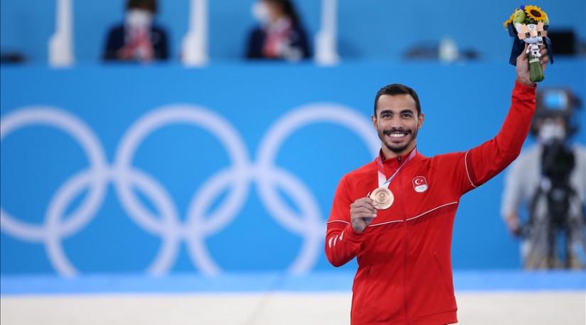 Турецкий гимнаст впервые в истории завоевал медаль Олимпиады