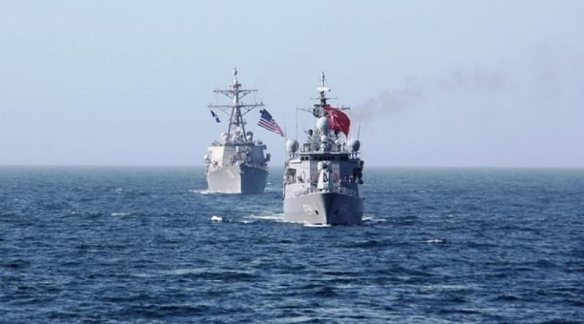 ВМС Турции и США провели совместные учения в Черном море