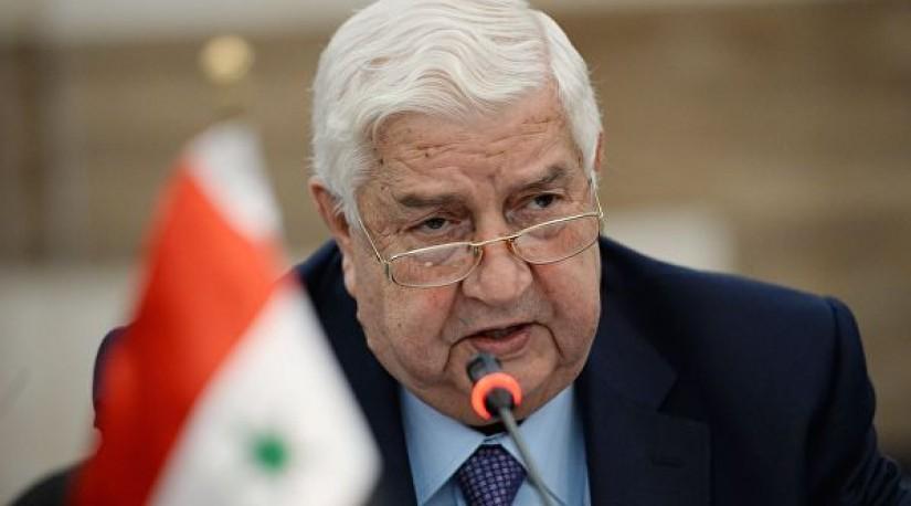 Глава МИД Сирии заявил, что Турция не выполняет сочинский меморандум