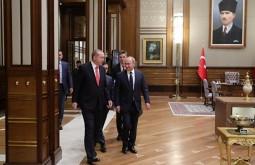 Эрдоган: Турция и Россия поддерживают территориальную целостность Ирака и Сирии