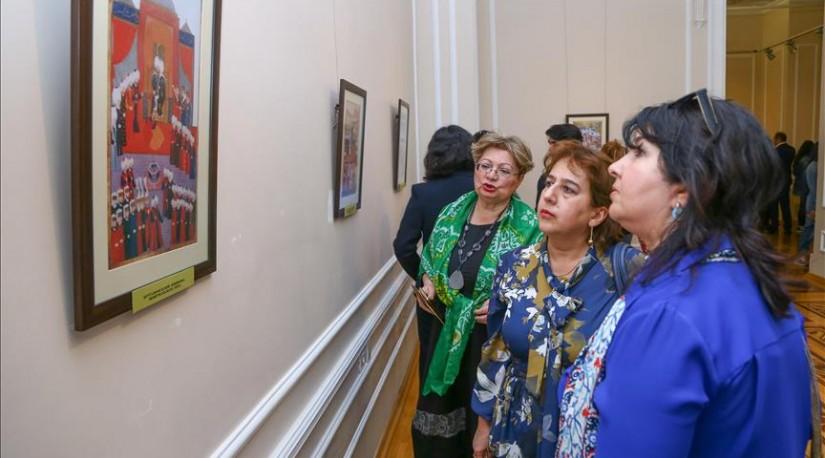 Османские миниатюры демонстрируют на выставке в Баку