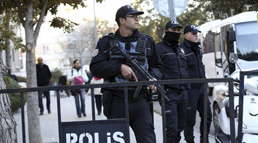 Полиция Турции задержала подозреваемого в связях с курдскими повстанцами